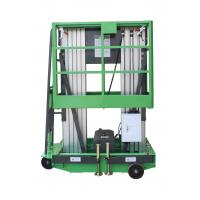 Buy cheap Double Mast 150kg Loading Aerial Work Platform With 14M Platform Height from Wholesalers