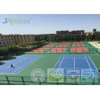Buy cheap Seamless Acrylic Tennis Court Flooring With Stable Surfacing Materials from Wholesalers