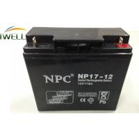Buy cheap 12 Volt 17Ah Deep Cycle Sealed Battery for Emergency Equipment from Wholesalers