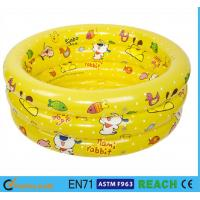 Buy cheap Splendid Printed Inflatable Swimming Pool 0.2mm Thickness Material Swim Tube from Wholesalers