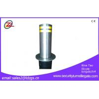 Buy cheap Stainless Steel Hydraulic Lifting Traffic Barrier Systems Automatic Control Bollard Column from Wholesalers