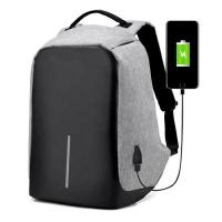 Buy cheap Reflective Anti Theft Travel Backpack , Business USB Charging Laptop Backpack from Wholesalers