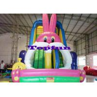 Buy cheap Big White Rabbit Inflatable Water Slide from Wholesalers