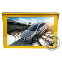 China 4G Network Bus Digital Signage 15 Inches Video Player Taxi Advertising Screen Wifi