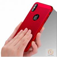 Buy cheap Iphone X Personalised Phone Covers Heat Dissipation Mesh Rubberized Hard PC from Wholesalers