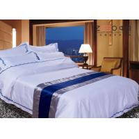 Disposable Hotel Bed Linen Oxford Style Technical OEM / ODM Available