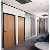 Buy cheap Modern 320# A12-02 MFC office partition from Wholesalers