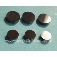 China round polishing surface 1308 PDC cutter / PCD cutter blanks for cutting tools / drilling bit on sale