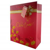 China Paper Bags Christmas Gift Bags Luxury Paper Gift Bags for holidays on sale