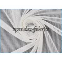 Buy cheap Heavy Weight Stretch Power Mesh Fabric All Way Stretch Spandex Item White Powernet from Wholesalers