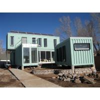 China Full Decoration Pre Built Container Homes / Prefabricated Container House Country Side Holiday Camping factory
