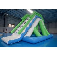 Buy cheap Customized 0.9mm PVC Tarpaulin Inflatable Water Slide For Commercial Use from Wholesalers