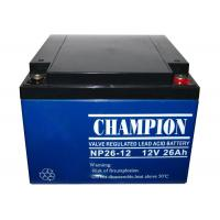 Buy cheap China Champion UPS Battery 12V26Ah NP26-12 Lead Acid AGM Battery VRLA Battery, SLA Battery from Wholesalers