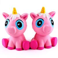 Buy cheap 12cm Squishy Unicorn Toys Jumbo PU Unicorn Animal Squishy Slow Rising Toys from wholesalers