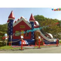 Popular Inflatable Bouncer Combo Slide , Combo Units With Affordable Price