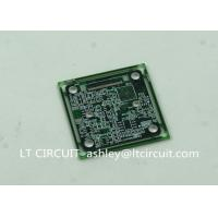Buy cheap Immersion Silver Multilayer PCB BGA IC Slots Cutout Green Solder Mask from Wholesalers