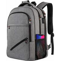 China Black Business Laptop Backpack School Bag Spacious Packing For Notebook on sale