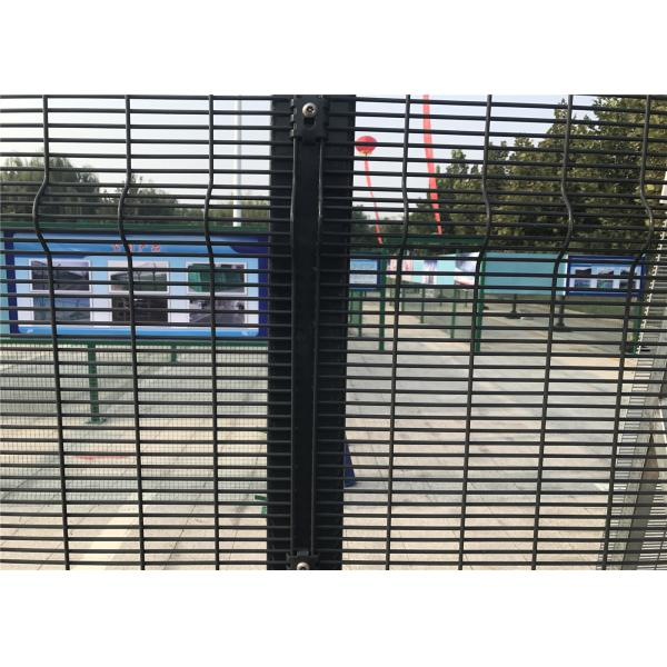 High security Wire Fence Panels Anti cut climb Powder Coated RAL ...