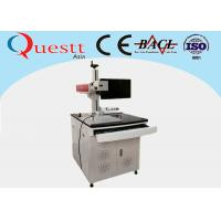 Buy cheap 20W Fiber Laser Marking Machine 7000 mm/S USB 2.0 Compatible Z Axis For SS from Wholesalers