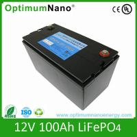 Buy cheap AGM/SLA battery replacement Screw connected 12v 100ah lithium ion battery from wholesalers