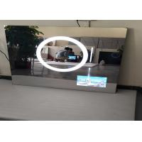 Anti - Fog HD Hotel Mirror Tv  High Brightness USB Supported Scratch Resistance