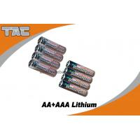 Buy cheap 1.5V LiFeS2 AA 2700mAh Lithium Iron Battery for Camera from Wholesalers