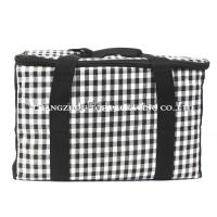 Tartan Designinsulated Cooler Bags / Disposal Lunch For Picnic ISO9001 Certification