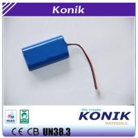 China Konik Li ion Battery Pack 2 Batteries Series or Parallel Battery Pack on sale