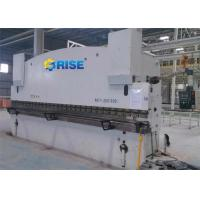6000 MM NC Press Brake Machine Steel Bending , 200 Ton Synchronization Press Brake