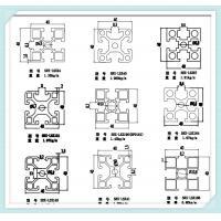 40 X 40 X 1 1mm Extruded Aluminium Profiles 6063 Material