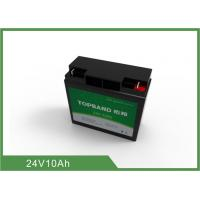 Buy cheap Long lifespan Deep Cycle Lithium Battery 10Ah / 24V LifePO4 Battery Light weight from Wholesalers