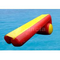 Buy cheap 7m Long Inflatable Water Slide Made Of Durable PVC Tarpaulin from Wholesalers