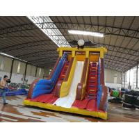 Buy cheap Commercial water slide inflatable fun castle infatable slide for amusement park from Wholesalers