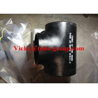 China ASTM A234 WPB Equal Tee Reducing Tee on sale