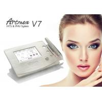 China Gold Metal Shell Semi Permanent Eyebrows Makeup Machine Touch Screen With Pedal on sale