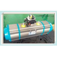 China three stage rack and pinion pneumatic rotary valve actuator on sale