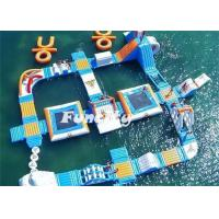 Buy cheap Theme Water Inflatable Amusement Parks Aqua Park Slides 7 - 10 Years Lifespan from Wholesalers