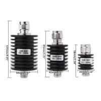 Buy cheap 50W N Type DC-13GHz Coaxial Fixed Attenuator Frequency 3GHz N Fixed Connectors from wholesalers