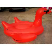 Buy cheap Fiery Red Swan Inflatable Pool Floats Sporting Events / Exhibits / Conventions from Wholesalers