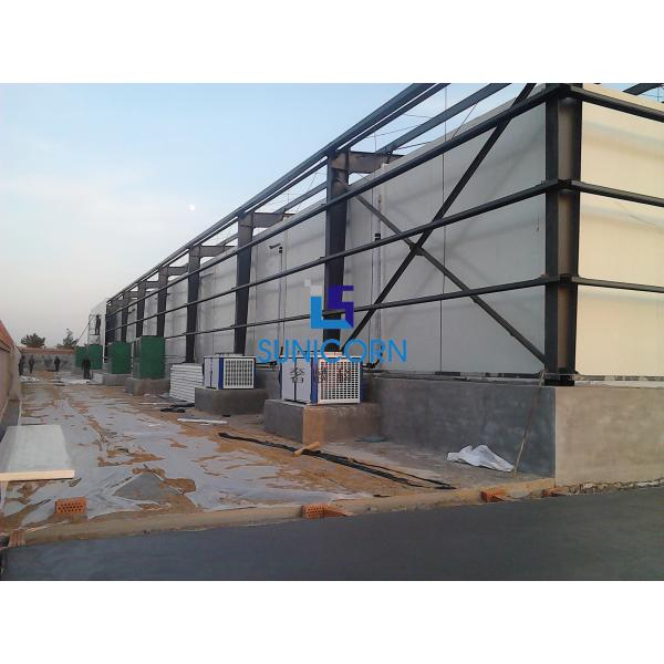 PLC Control Prefabricated Cold Room Cooling Storage System