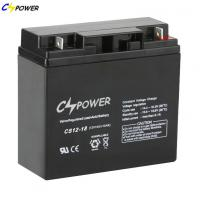 Buy cheap CS12-18 12V 18ah Mainteance Free VRLA AGM UPS BATTERY with 2 YEARS Warranty from Wholesalers