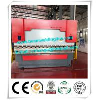Buy cheap Hydraulic Press Brake Machine , WE67Y-125T/3200 CNC Press Brake Bending Machine from Wholesalers