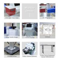 China High Speed Co2 Laser Marking System 10w 20w Water Cooling For Non Metal factory