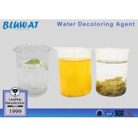 Buy cheap Decolorizing Agent Water Treatment Color Removal Chemical COD Reduce Chemical from wholesalers