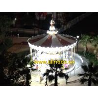Buy cheap factory China amusement park Double Deck carousel horses Merry Go Round for sale from wholesalers