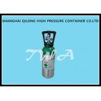 Buy cheap 8L Aluminum Oxygen Hydraulic Gas Cylinder / High Pressure Gas Bottles from wholesalers