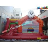 Buy cheap Durable Commercial  Inflatable Bouncy Slide For Outdoor / Backyard from Wholesalers