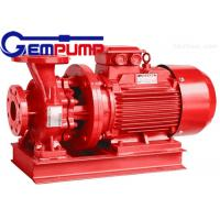 Buy cheap ISW Horizontal Pipe Inline Water Booster Pump Red Color 10~125 m Head from Wholesalers