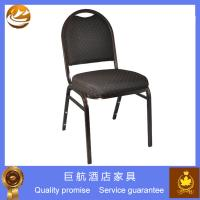 China Stackable Restaurant Banquet Metal Chair on sale