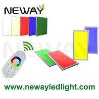 China 1200x300 30W Remote Control RGB Dimmable LED Panel Ceiling Lighting on sale